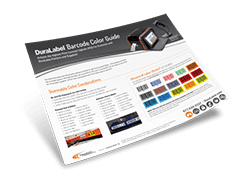Barcode Color Chart