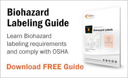 Learn biohazard labeling requirements and comply with OSHA.