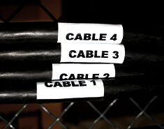 Cable Markers and Tags
