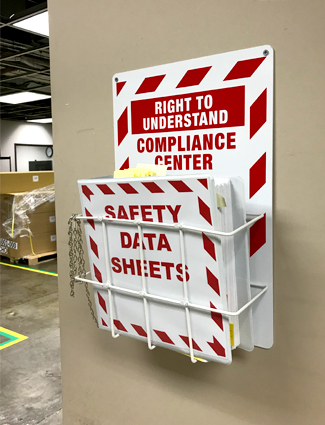 Update safety data sheets regularly.