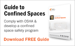 Comply with OSHA & develop a confined space safety program