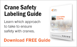 Learn which approach to take to ensure safety with cranes