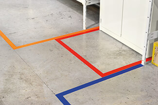 cleanroom floor marking tape