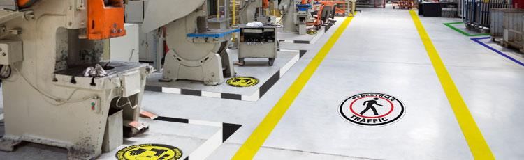 Industrial Floor Tape Vs Floor Paint Graphic Products