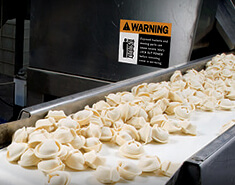 Hazards in the Food Processing Industry