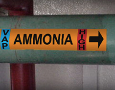 IIAR Standards for Ammonia Pipe Marking
