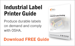 Produce durable labels on demand and comply with OSHA.