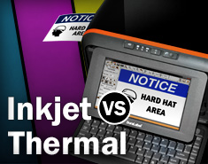 Thermal vs. Inkjet Printers