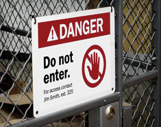 Labeling Your Facility for Safety