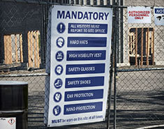 OSHA Construction Site Compliance