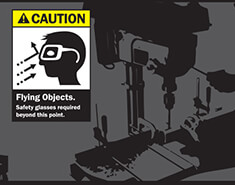 OSHA Safety Signs Infographic