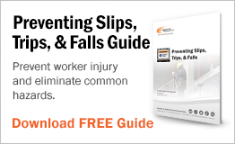 Prevent worker injury and eliminate common hazards.