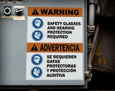 Safety Labels vs Signs: What's the Difference?