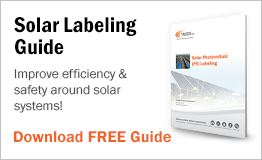 Improve efficiency & safety around solar systems!