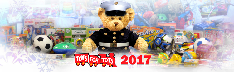 Toys for Tots 2017 collection