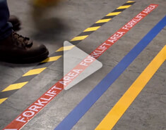Floor Marking Maintenance Durability Test
