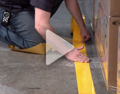 Install Floor Marking Tape