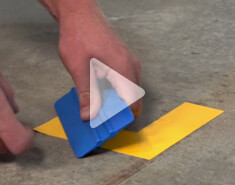 Install Floor Marking Corners