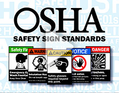 OSHA/ANSI Safety Sign Standards