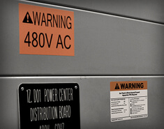 Labeling for Arc Flash Hazards