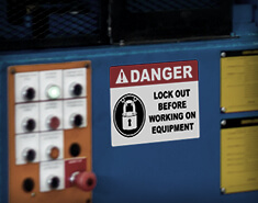 Signage for Safety & OSHA Compliance